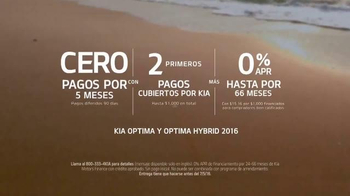 Kia Evento Summer's On Us TV Spot, 'Optima y Optima Hybrid' [Spanish] - Thumbnail 4
