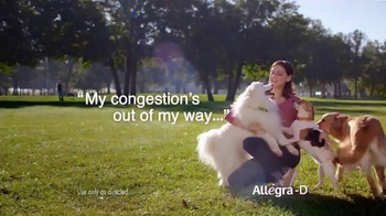 Allegra-D TV Spot, 'Dogs' - Thumbnail 2