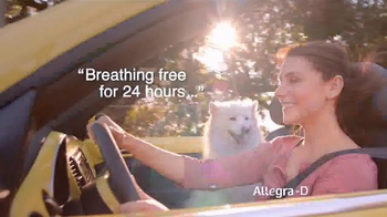 Allegra-D TV Spot, 'Dogs' - Thumbnail 5