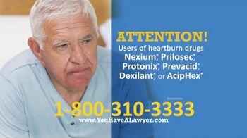 Saiontz & Kirk, P.A. TV Spot, 'Heartburn Drugs'