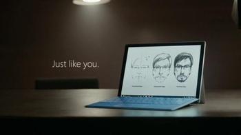 Microsoft Surface Pro 4 TV Spot, 'Forensic Artist Stephen Mancusi' - Thumbnail 10