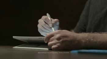 Microsoft Surface Pro 4 TV Spot, 'Forensic Artist Stephen Mancusi' - Thumbnail 3