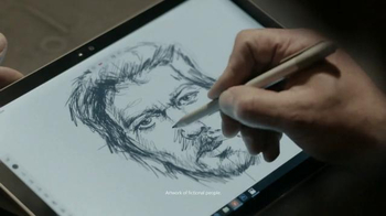 Microsoft Surface Pro 4 TV Spot, 'Forensic Artist Stephen Mancusi' - Thumbnail 6