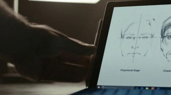 Microsoft Surface Pro 4 TV Spot, 'Forensic Artist Stephen Mancusi' - Thumbnail 9