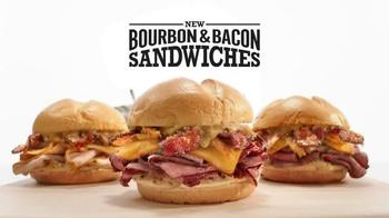 Arby's Bourbon Bacon Sandwiches TV Spot, 'Mouthfeel' - Thumbnail 2