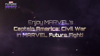 Marvel Future Fight TV Spot, 'Captain America: Civil War' - Thumbnail 3