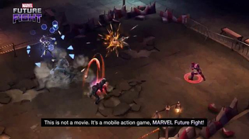 Marvel Future Fight TV Spot, 'Captain America: Civil War' - Thumbnail 5