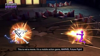 Marvel Future Fight TV Spot, 'Captain America: Civil War' - Thumbnail 6