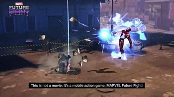 Marvel Future Fight TV Spot, 'Captain America: Civil War' - Thumbnail 7