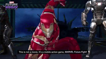 Marvel Future Fight TV Spot, 'Captain America: Civil War' - Thumbnail 8