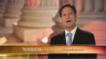 The Cochran Law Firm TV Spot, 'Injury Justice' - Thumbnail 2