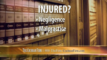 The Cochran Law Firm TV Spot, 'Injury Justice' - Thumbnail 4