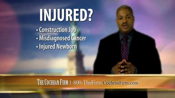The Cochran Law Firm TV Spot, 'Injury Justice' - Thumbnail 6