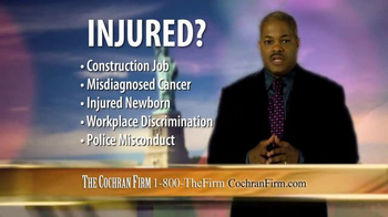 The Cochran Law Firm TV Spot, 'Injury Justice' - Thumbnail 7