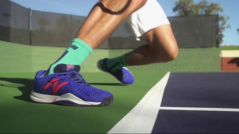 Tennis Warehouse TV Spot, 'New Balance: Raonic & Gibbs'