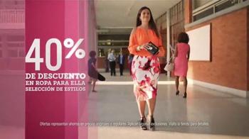 JCPenney Venta del Día de las Madres TV Spot, 'Ropa para las Madres' - Thumbnail 3