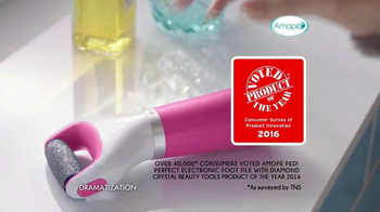 Amopé Pedi Perfect Wet & Dry TV Spot, 'Product of the Year' - Thumbnail 4