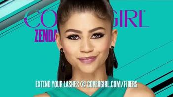 CoverGirl Super Sizer Fibers TV Spot, 'Won't Believe Your Eyes' Ft. Zendaya - Thumbnail 5
