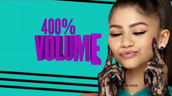 CoverGirl Super Sizer Fibers TV Spot, 'Won't Believe Your Eyes' Ft. Zendaya - 423 commercial airings