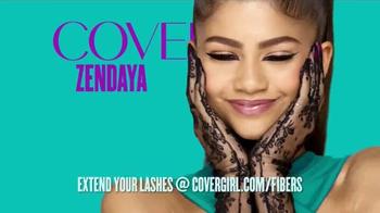 CoverGirl Super Sizer Fibers TV Spot, 'Won't Believe Your Eyes' Ft. Zendaya - Thumbnail 4