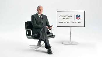 Courtyard Marriott TV Spot, 'Rich Eisen Offers Some Relationship Advice' - Thumbnail 1