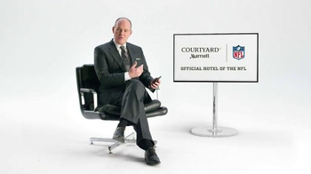 Courtyard Marriott TV Spot, 'Rich Eisen Offers Some Relationship Advice' - 163 commercial airings