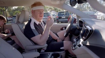 2017 Chrysler Pacifica TV Spot, 'Tennis: Lazy Culture' Feat. Jim Gaffigan - Thumbnail 7