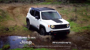 Jeep Ten Days to Deal TV Spot, 'Take on the World' - Thumbnail 1