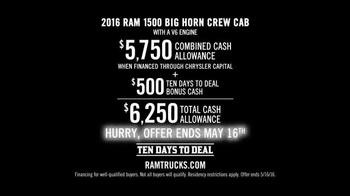 Ram Trucks Ten Days to Deal TV Spot, 'Guts and Glory' - Thumbnail 4