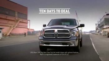 Ram Trucks Ten Days to Deal TV Spot, 'Guts and Glory' - Thumbnail 2