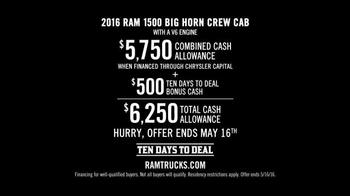 Ram Trucks Ten Days to Deal TV Spot, 'Guts and Glory' - Thumbnail 3