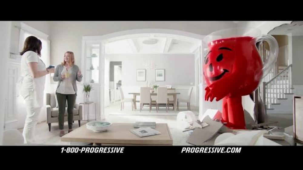 Progressive TV Commercial, 'Kool-Aid Man'