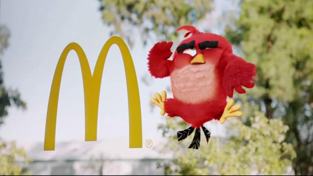 McDonald's TV Commercial, 'The Angry Birds Movie: Launch'