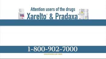 Goldwater Law Firm TV Spot, 'Xarelto and Pradaxa Settlements' - Thumbnail 1