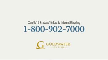 Goldwater Law Firm TV Spot, 'Xarelto and Pradaxa Settlements' - Thumbnail 4