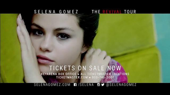 AEG Live TV Spot, 'Selena Gomez Revival Tour: Key Arena' - 2 commercial airings