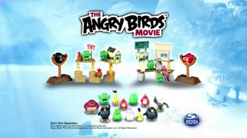 The Angry Birds Movie Playsets and Collectibles TV Spot, 'New Challenge' - Thumbnail 8