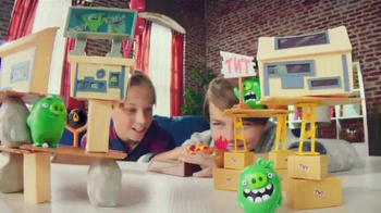 The Angry Birds Movie Playsets and Collectibles TV Spot, 'New Challenge' - 572 commercial airings