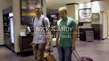 Holiday Inn TV Spot, 'Journey to Extraordinary: Perfect 10 Foods'