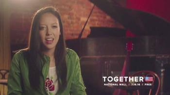 Together 2016 TV Spot, 'Stand With Me' Featuring Amy Vachal - 3 commercial airings