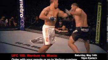 Fios by Verizon Pay-Per-View TV Spot, 'UFC 198: Werdum vs. Miocic'