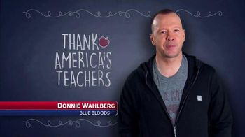 Farmers Insurance TV Spot, 'America's Teachers' Featuring Donnie Wahlberg