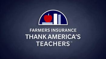 Farmers Insurance TV Spot, 'America's Teachers' Featuring Donnie Wahlberg - Thumbnail 5