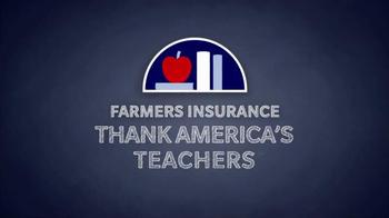 Farmers Insurance TV Spot, 'America's Teachers' Featuring Donnie Wahlberg - Thumbnail 4