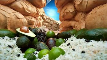 Moe's Southwest Grill Ancho Lime Bowl TV Spot, 'Waterfall' - Thumbnail 6