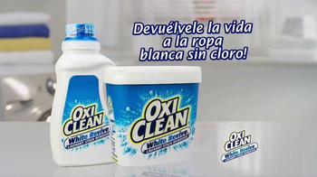 OxiClean White Revive TV Spot, 'Laboratorio de lavandería' [Spanish] - Thumbnail 10