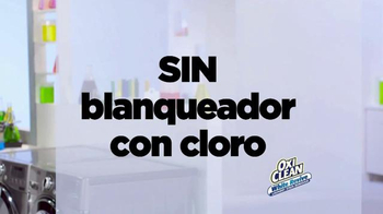 OxiClean White Revive TV Spot, 'Laboratorio de lavandería' [Spanish] - Thumbnail 5