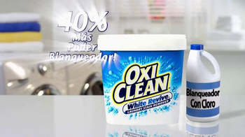 OxiClean White Revive TV Spot, 'Laboratorio de lavandería' [Spanish] - Thumbnail 7