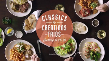 Carrabba's Grill Classics and Creations Trios TV Spot, 'Choices' - Thumbnail 6