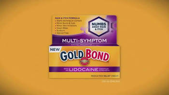 Gold Bond with Lidocaine TV Spot, 'Numbs Away Pain and Itch' - Thumbnail 4